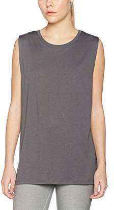 New Look Women's 5040579 Sports Tank Top, (Light Grey), 8 (Size:Small)