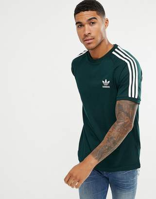 adidas adicolor California T-Shirt In Green CZ4545