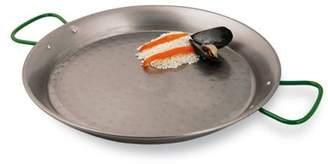 "Paderno World Cuisine Paella Pan, Polished Carbon Steel, DIA 15 3/8"" x H 1 3/4"""