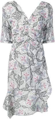 Isabel Marant printed gathered dress