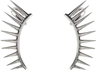 Latelita London - Cosmic Spikey Ear Cuff Silver