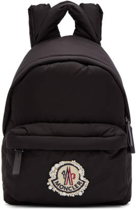 Simone Rocha Moncler Genius 4 Moncler Black Logo Backpack