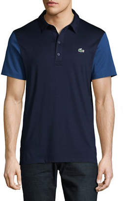 Lacoste Ultra Dry Colourblock Sleeve Polo