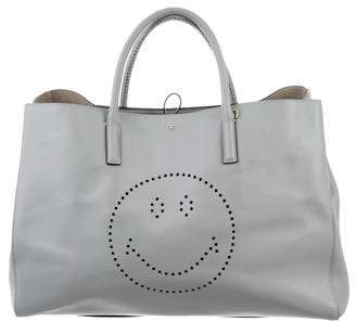 Anya Hindmarch Ebury Maxi Featherweight Smiley Tote
