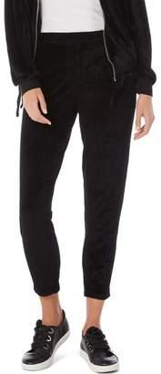 Michael Stars Vali Velvet Crop Jogger Pants