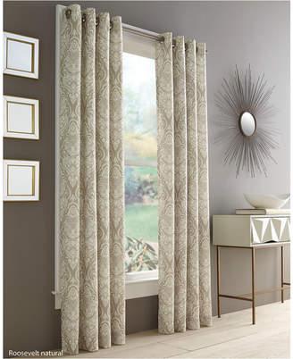 """J Queen New York Roosevelt 50"""" x 95"""" Grommet Curtain Panel"""
