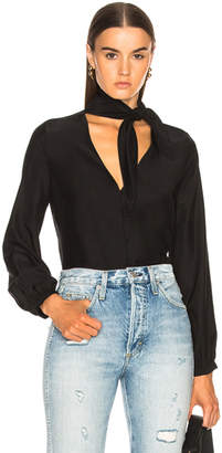 Frame Open Scarf Top