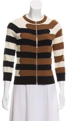 Michael Kors Cashmere Zip-Up Cardigan multicolor Cashmere Zip-Up Cardigan