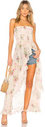 Rococo Sand x REVOLVE Strapless Maxi Dress