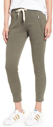Women's Sincerely Jules 'Lux' Skinny Cotton Jogger Pants $95 thestylecure.com
