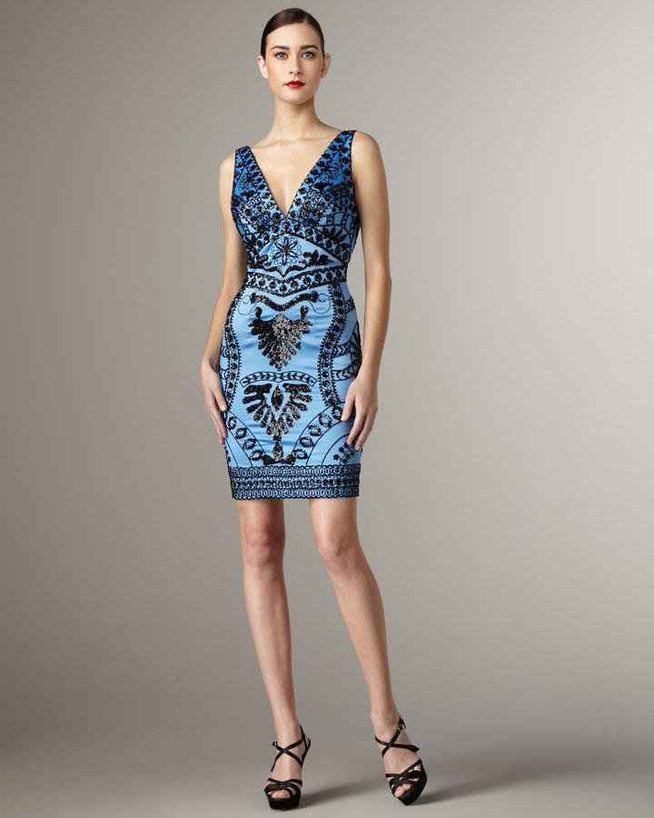 Mandalay Beaded Pattern Dress