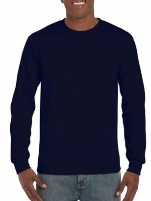 Gildan Mens Classic Long Sleeve T-Shirt
