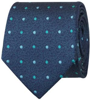 Geoffrey Beene Textured Multi Spot Tie