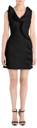 MSGM Women's Cascading Ruffle Sheath Dress