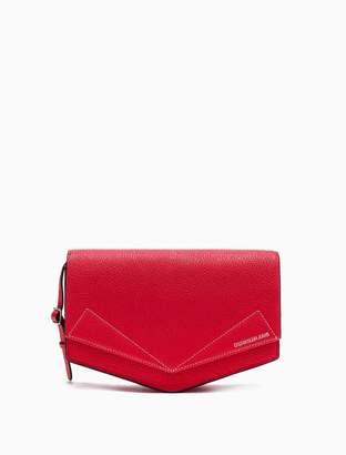 Calvin Klein leather medium crossbody bag