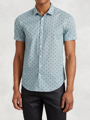 Cotton Short Sleeve Shirt $248 thestylecure.com