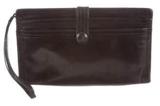 Bottega Veneta Leather Wristlet Wallet
