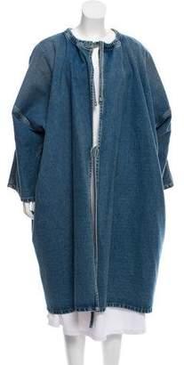 Balenciaga Denim Kimono Coat w/ Tags