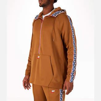 Nike Men's Sportswear Air Max Taped Half-Zip Hoodie