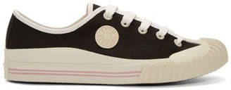 Acne Studios Black Bla Konst Tennis Sneakers