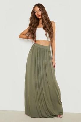 99b8295382 at boohoo · boohoo Floor Sweeping Jersey Maxi Skirt