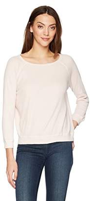 Velvet by Graham & Spencer Women's Keira Thermal Raglan Pullover