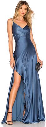 Nicholas Silk Charmeuse Maxi Dress