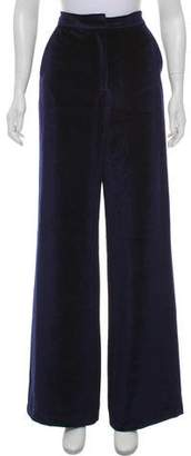 Self-Portrait Velvet High-Rise Pants w/ Tags