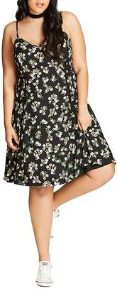 City Chic Pretty Daisy Dress $99 thestylecure.com