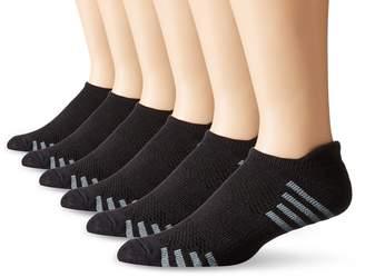 Hanes Men's 6-Pack FreshIQ Sport Cuts Heel Shield Socks