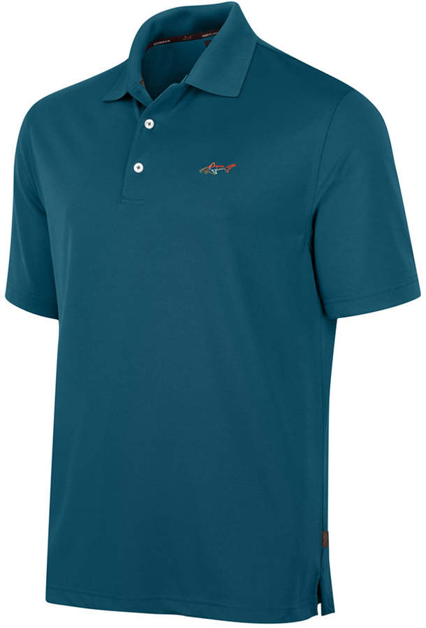 Greg norman for tasso elba big tall 5 iron performance for Large tall golf shirts