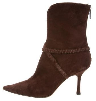 Jimmy Choo Jimmy Choo Suede Ankle Boots