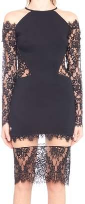 Philipp Plein 'laced Lack' Dress