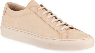 Common Projects Men's Original Achilles Low-Top Sneakers, Nude
