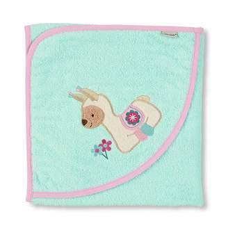 Sterntaler Stf7q Hooded Bath Towel Cuddly Zoo Llama Lotte Age: from 0 months Size: 80 x 80 cm