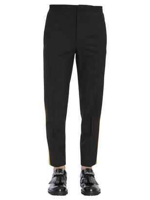Alexander McQueen Trousers With Elastic Waistband