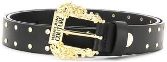 Versace embellished stud belt