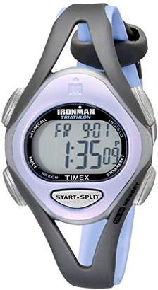 Timex Women's T5E511 Ironman Sleek 50 Mid-Size Resin Strap Watch