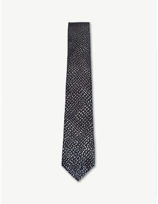Lanvin Dégradé spotted silk tie