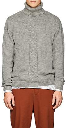 Barneys New York Men's Wool Turtleneck Sweater - Gray