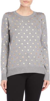 Romeo & Juliet Couture Romeo + Juliet Couture Star Foil Sweater