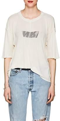 Ben Taverniti Unravel Project Women's Cutout Silk Jersey T-Shirt
