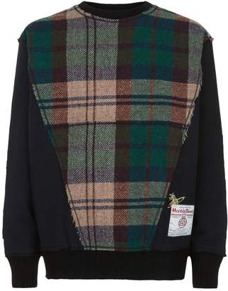 Vivienne Westwood Tweed Panel Sweatshirt