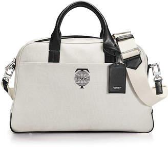 Tiffany   Co.   Co. Travel flight bag in cotton canvas with black grain 87f1b6491b