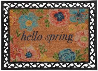 Pottery Barn Hello Spring Rubber Doormat