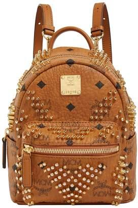 MCM Mini Stark Swarovski Crystal Backpack