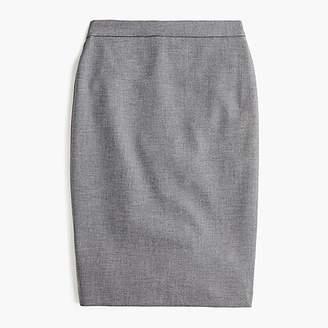 J.Crew No. 2 pencil skirt in four-season stretch