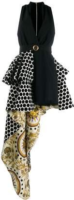 Fausto Puglisi printed asymmetrical dress