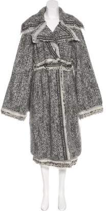 Chanel Fantasy Fur Cardigan Coat