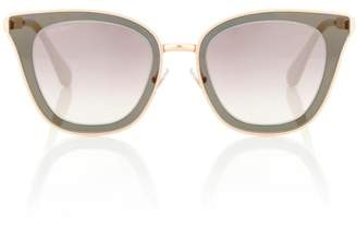 Jimmy Choo Lory crystal-embellished sunglasses